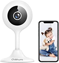WiFi Camera Indoor, Goowls 1080p HD Home Security Camera 2.4GHz Wired IP Dog Camera for Baby/Pet/Nanny with Motion Detecti...