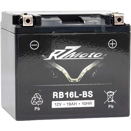 YT19BL-BS 51913 51814 YB19L 12V Maintenance Free Motorcycle GEL Battery 19Ah