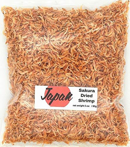 Greenlike Dried Small Shrimp Sakura Dried Shrimp 3oz/85g Ramen Shrimp 日本樱花虾米