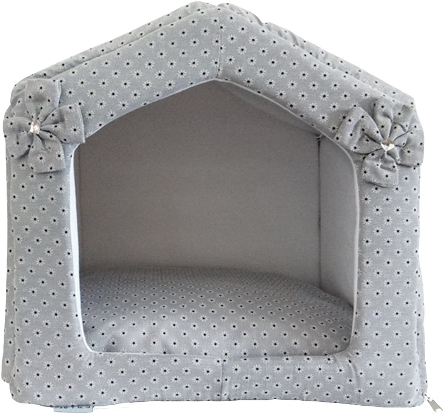 Aqi7 Removable Dog House, Small Pet Cat Kennel, Pet House