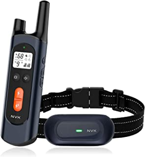 NVK Shock Collars for Dogs with Remote - Rechargeable Dog...