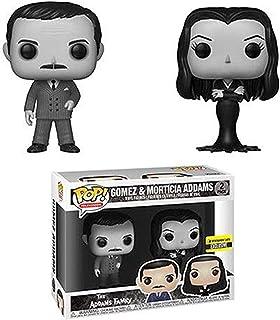 Funko Pop! TV: The Addams Family Morticia y Gómez - Figura de vinilo blanco y negro (2 unidades)