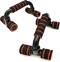Boldfit Push Up Bar Stand for Gym & Home Exercise, Dips/Push Up Stand for Men & Women. Useful in Chest & Arm Workout. (Orange Color)