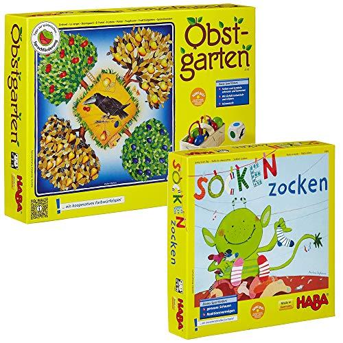 HABA - Obstgarten + Socken zocken