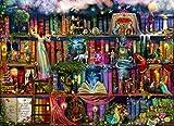 Posterazzi Treasure Hunt Book Shelf (Variant 6) Poster Print by Aimee Stewart, (12 x 6)