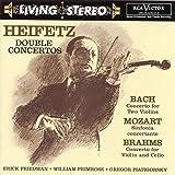 Living Stereo - Jascha Heifetz (Doppelkonzerte) (Aufnahmen 1956 / 1960 / 1961) - ascha Heifetz