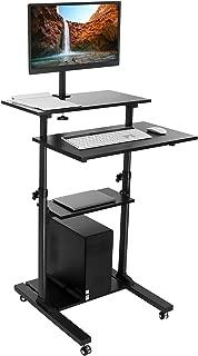 Best standing rolling computer cart Reviews