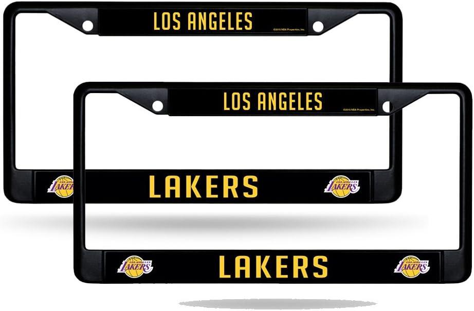 Rico Los Angeles LA Lakers Washington Mall NBA Metal License 2 Black Plate Fra Don't miss the campaign