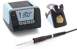 Weller WT1010HN 1-Channel Soldering Station with 120 W Soldering Pencil and Safety Rest (Renewed)