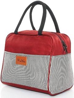 VOVTT Sac Isotherme Repas Insulated Cooler Bag Sac /À Lunch Office Meal pour Homme,Femme,Enfant,19x29x42cm Grande Capacit/é Isothermal Lunch Box Isotherme Bag Boite Repas,Sac Isotherme Bureau