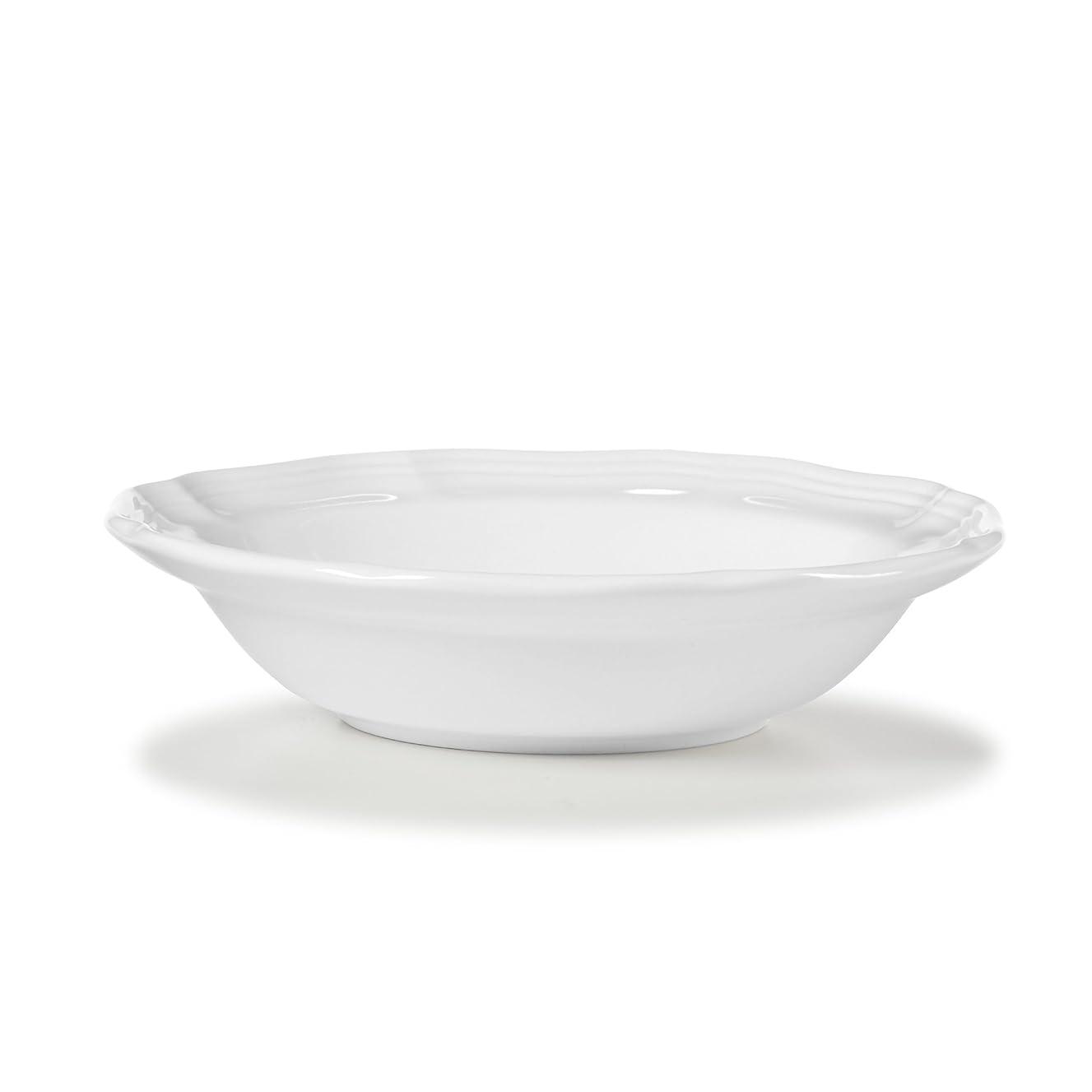 Mikasa French Country Fruit Bowl, White