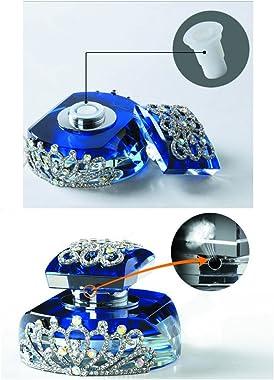 Alien Storehouse Car Perfume Crystal Car Air Freshener Perfume Bottle for Car Creative [Black-5]