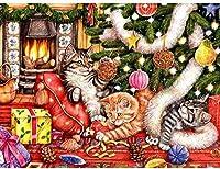 ジグソーパズル3000ピースパズル子供漫画パズル教育玩具ギフトクリスマス猫