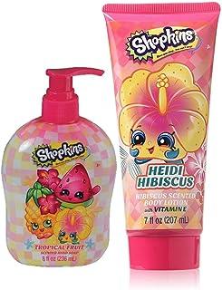 SHOPKINS BATH CARE BUNDLE include Hand Soap and body Lotion