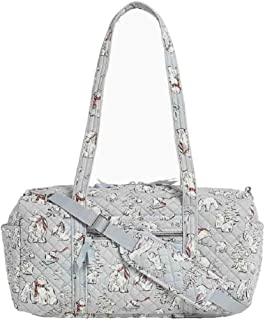Vera Bradley Iconic Small Travel Duffel in Beary Merry Signature Cotton