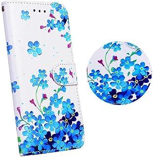 Huawei P8 Lite ケース 対応カバー OMATENTI 人気な 手帳型 レザーケース マグネット式 カバー 横置き スタンド機能 カート収納 耐衝撃 全面保護ケース (10)