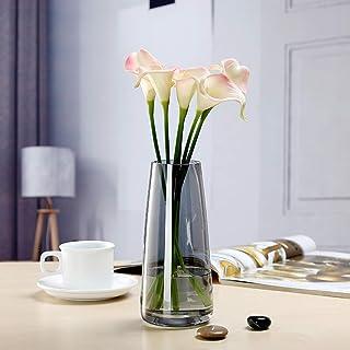 Vase en Verre Aurora symphonie de Couleurs Transparent (Gris fumé)
