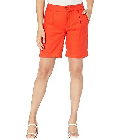 NYDJ Modern Bermuda Shorts in Stretch Linen Twill