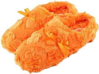 Genda 2Archer Women's Bowtie Warm Comfy Fluffy Plush Slippers Ladies