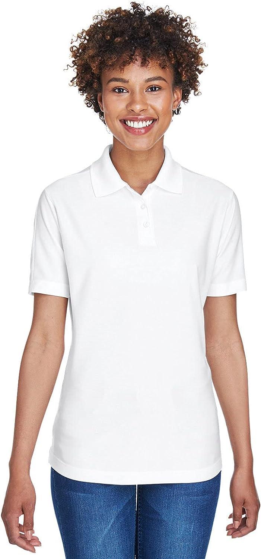 UltraClub Ladies' Cool & Dry Elite Performance Polo XS White