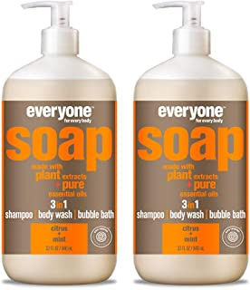 Everyone 3-In-1 Soap, Citrus and Mint, 32 Fl Oz, Pack of 2