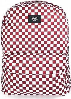 Men's Old Skool III Backpack, Chili Pepper Checkerboard, OS