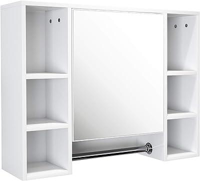 House & Homestyle Tallboy - Armario con Espejo (162 x 32 x 22 cm ...