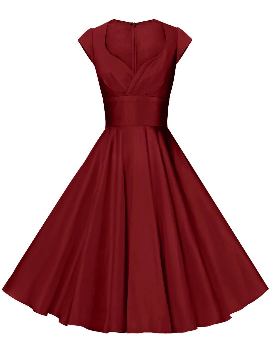 Available at Amazon: GownTown Women's Dresses Party Dresses 1950s Vintage Dresses Swing Stretchy Dresses