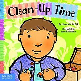 Clean-Up Time (Toddler Tools) by [Elizabeth Verdick, Marieka Heinlen]