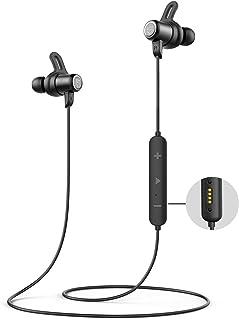 SOUNDPEATS Bluetooth Headphones IPX8 Sweatproof, Wireless Earbuds with Magnetic Charging Contactor, APTX HD Audio CVC Nois...