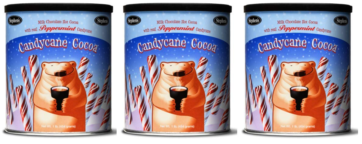Stephen's Gourmet Hot CandyCane Cocoa 3 Beauty products Pound 1 of Topics on TV Pack