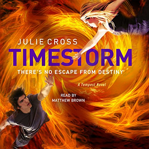 Timestorm audiobook cover art