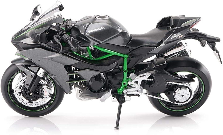 calidad auténtica LBYMYB Modelo de Juguete de la Motocicleta Kawasaki H2R H2R H2R Locomotora de súperficie de Cocheretera de aleación Modelo de Motocicleta Regalo de la colección  Envio gratis en todas las ordenes