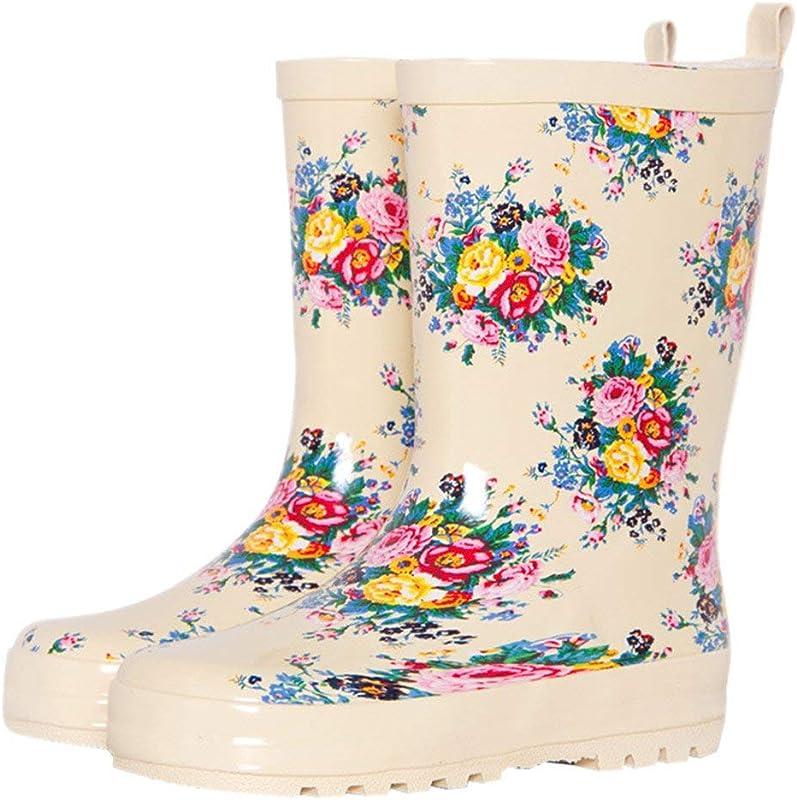 8a77d8be8e0b7  Rayiisuy  ガールズレインブーツ可愛い長靴キッズレインシューズ雨靴ジュニア子供用レインブーツ防水防寒雪遊びおしゃれレインシューズ雨靴ジュニア