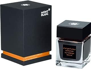 Montblanc Elixir Parfumeur, Leather Scent, Orange Brown