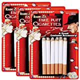 Forum Novelties Fake Cigarettes - 3 Pack of 6 Pieces