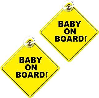 Bébé Sur Board Signe Grossesse Ventouse Voiture Signe Maman à être À Bord Voiture Signe