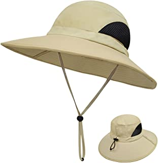 LETHMIK Outdoor Waterproof Boonie Hat Wide Brim Breathable Hunting Fishing Safari Sun Hat