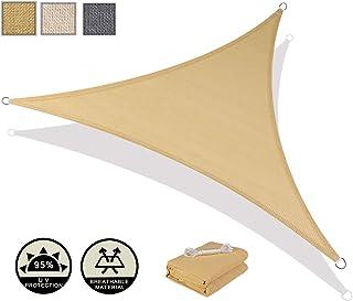 AXT SHADE Toldo Vela de Sombra Triangular 3,6 x 3,6 x 3,6 m
