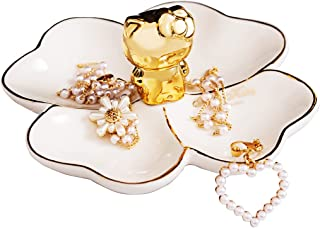 Hello Kitty Ceramic Jewelry Ring Earring Necklace Jewelry Tray Jewelry Storage Tray Birthday Christmas Valentine's Day Wed...
