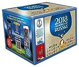 Panini - Mundial Rusia 2018 Caja con 100 Sobres - Versión importada de Alemania [Los números...