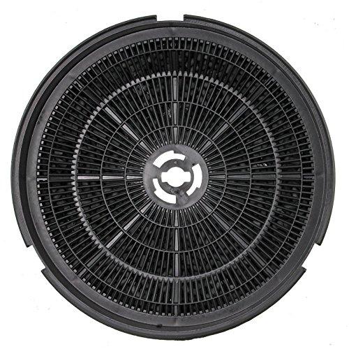 spares2go Typ 150Anthrazit Carbon Filter für Kaminöfen Dunstabzugshaube Vent (190x 38mm)