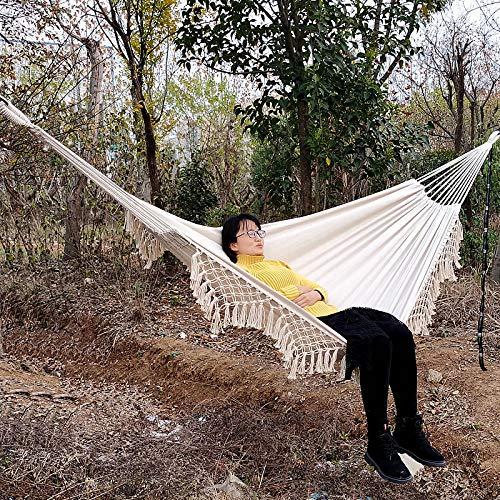 Gifftiy Hangmat zonder standaard Hamacas Colgantes 200X150Cm Hangmat Tuin Swing Slaapbed Romantisch Kant Outdoor Camping Hangstoel Draagbaar