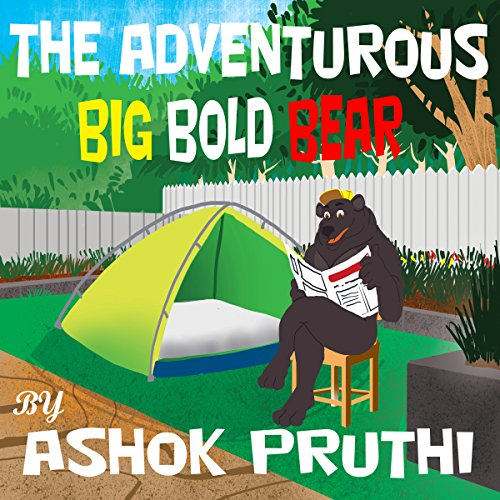 The Adventurous Big Bold Bear cover art