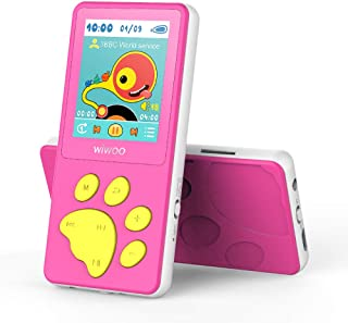 Wiwoo MP3 Player for Kids, Portable Music Player with FM Radio Video Puzzle Games Sleep Timer Voice Recorder E-Book,Bear's...