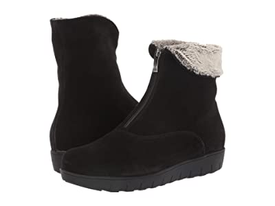 La Canadienne Tess (Black Suede) Women