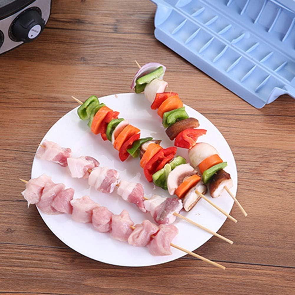 Ukoudadao9haowanh Machine à brochettes à viande pour barbecue Accessoires de cuisine Vert