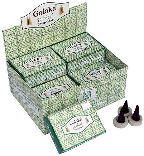 GOLOKA McGuinness- Juego de 12 Paquetes de Conos de Incienso