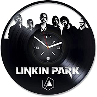 Linkin Park Vinyl Record Wall Clock. Decor for Bedroom, Living Room, Rest Room. Gift for Him or Her. Christmas, Birthday, Holiday, Anniversary Present.