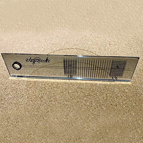 GeKLok - Goniometro di allineamento per regolazione giradischi, fonografo, strumento per goniometro e per allineamento dello stilo